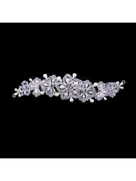 Floral Bridal Comb